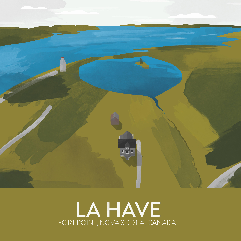 La Have Poster