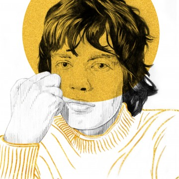 Mick Jagger(Gold)