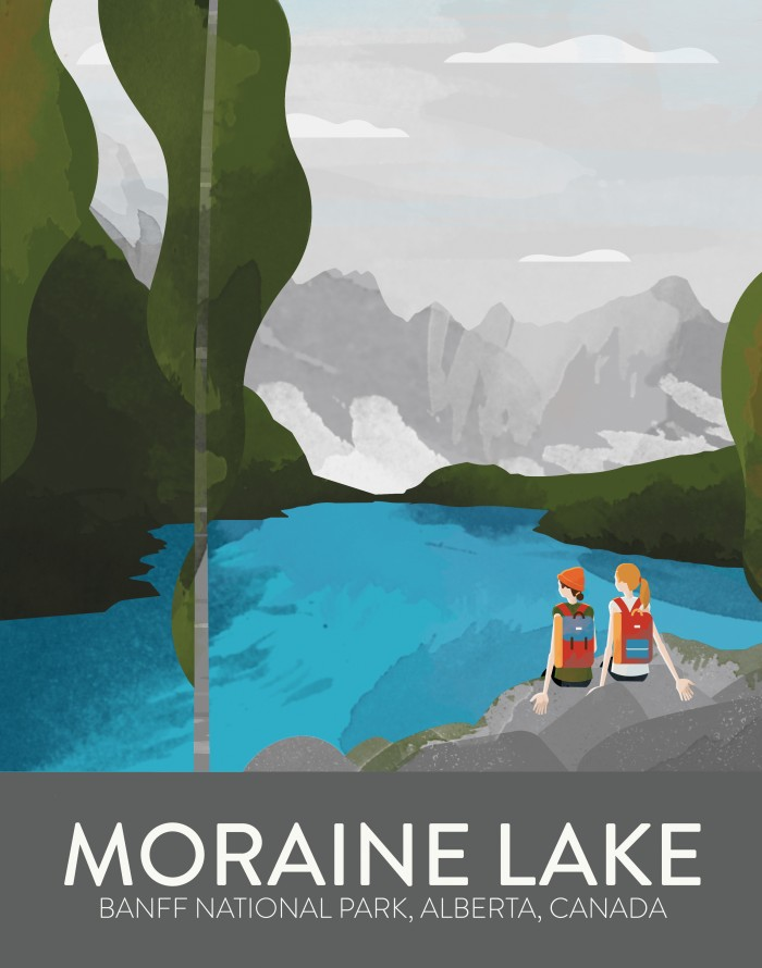 Moraine Lake(Hands)