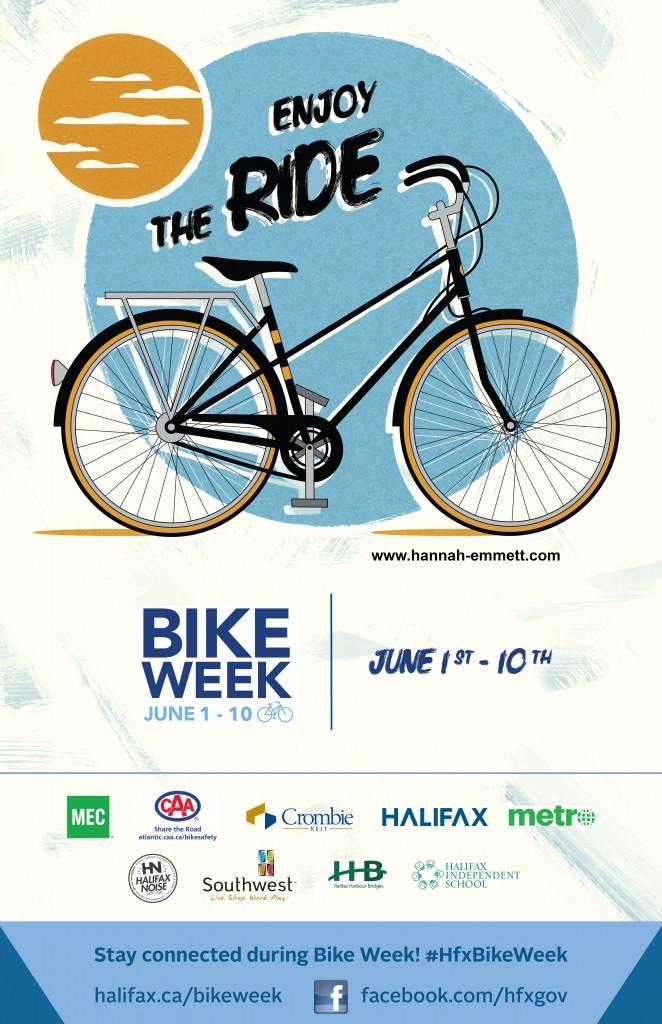Bike Week Poster(Texture-Sponsors)