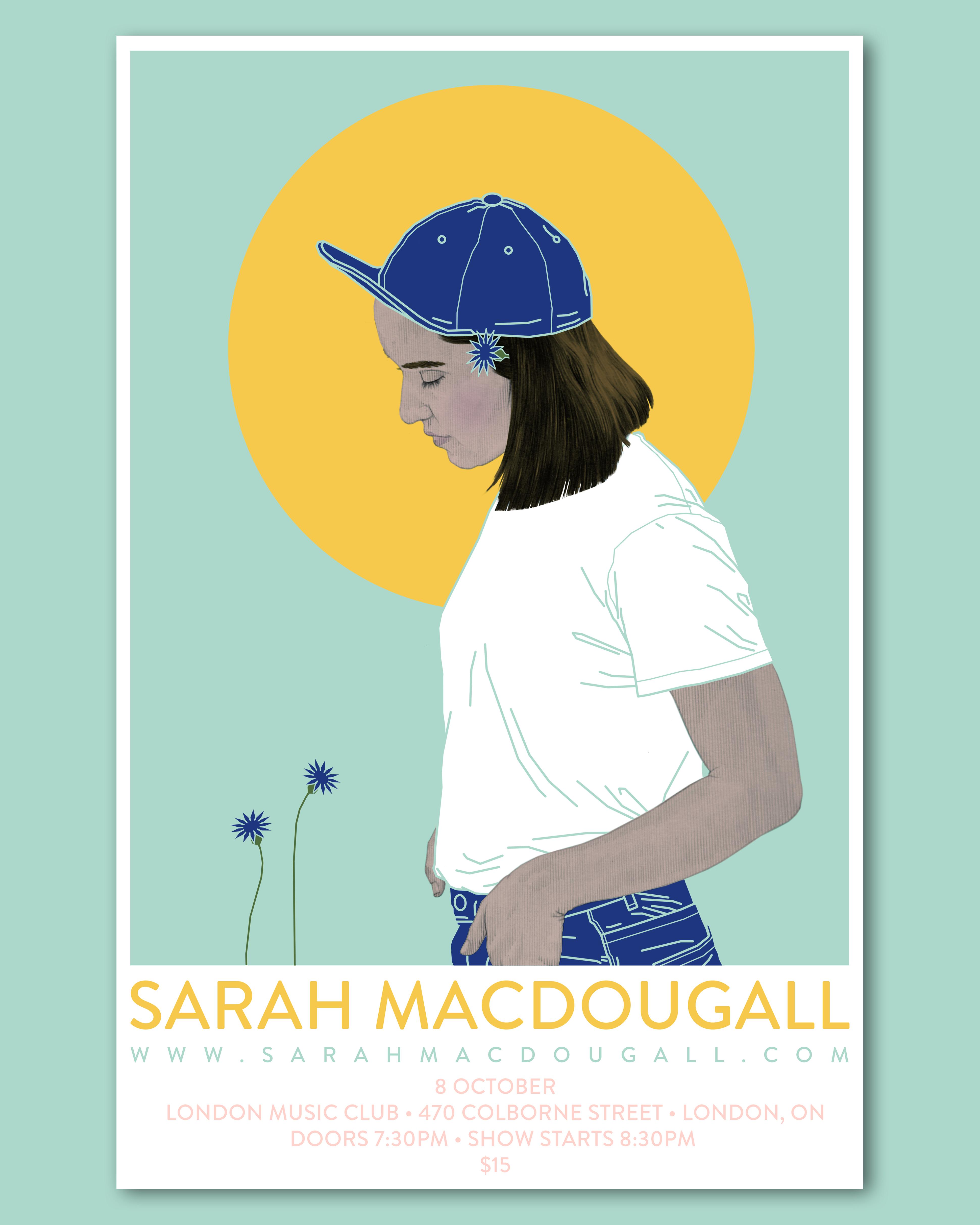 Sarah MacDougall Concert Poster(Instagram4)