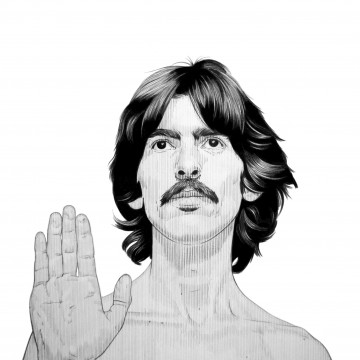 George Harrison copy