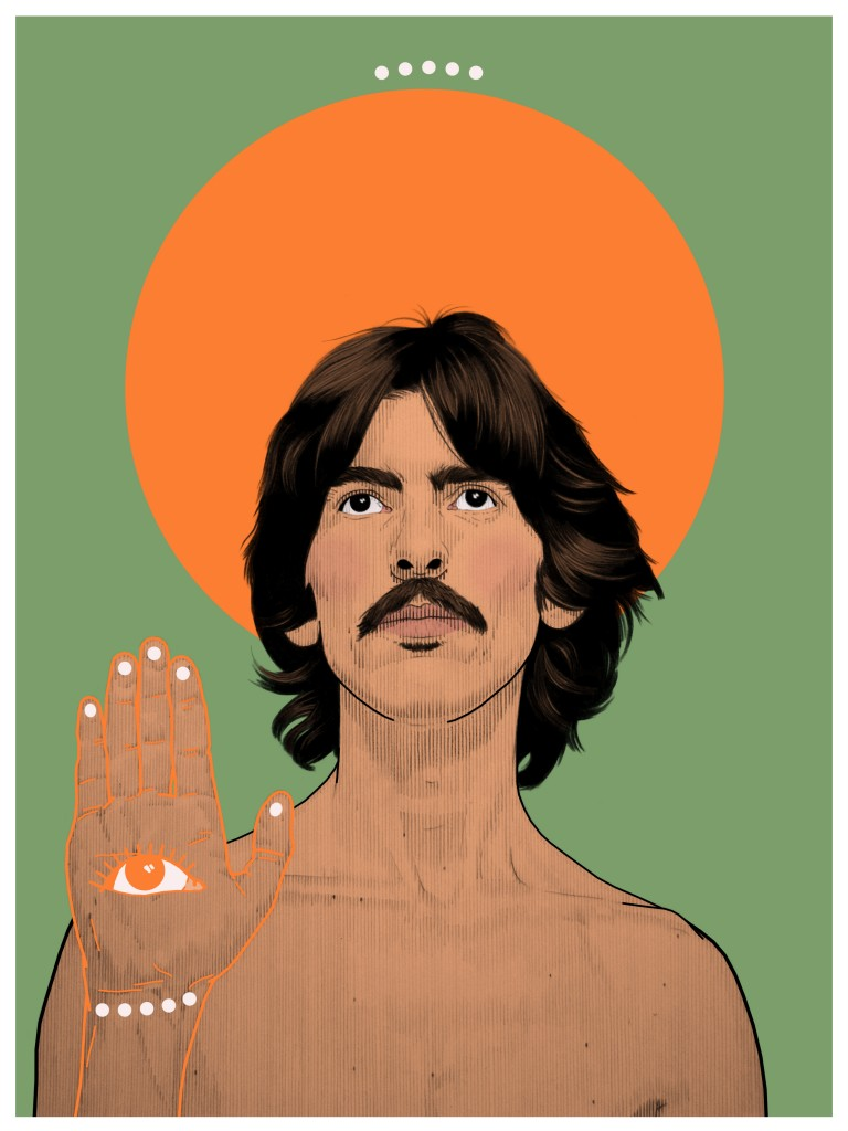 Psychedelic George Harrison(Tracy)