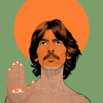 Psychedelic George Harrison(Website)