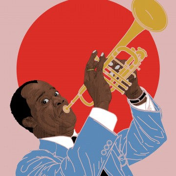Louis Armstrong(No Border)