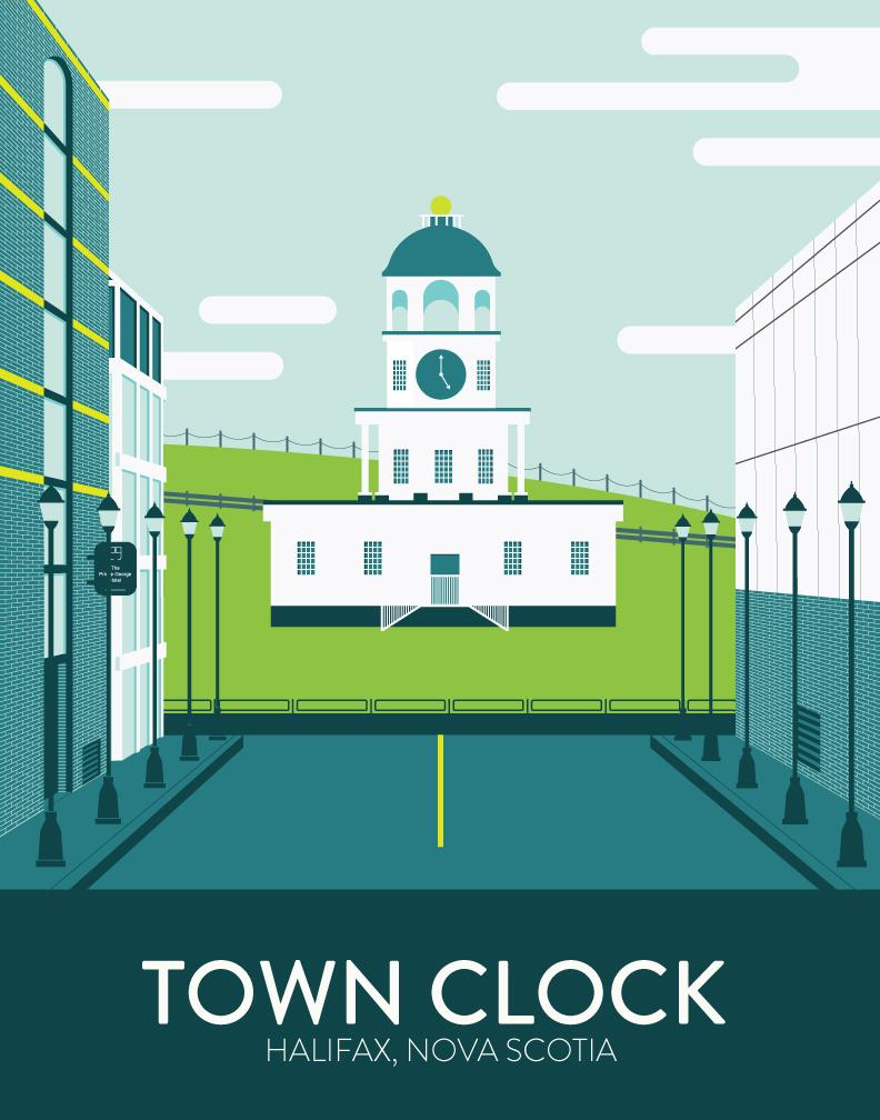 Town-Clock